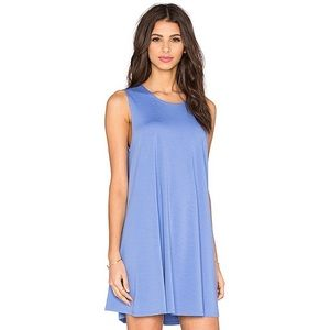 Bishop & Young • Periwinkle Blue Swing Dress